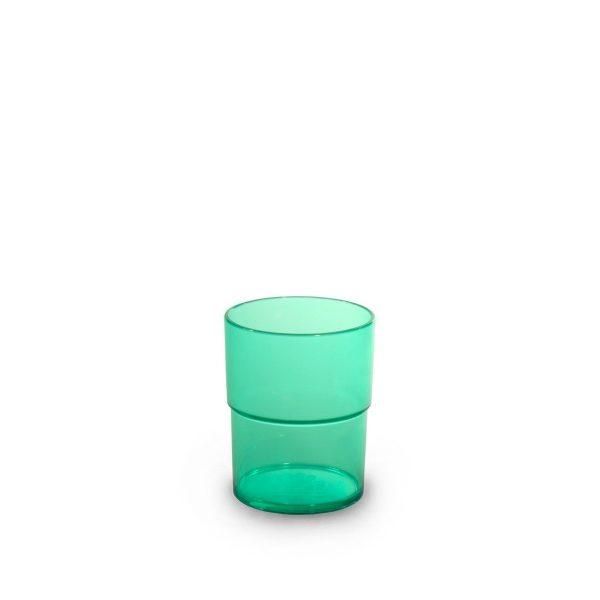 Gobelet vert incassable et personnalisable.