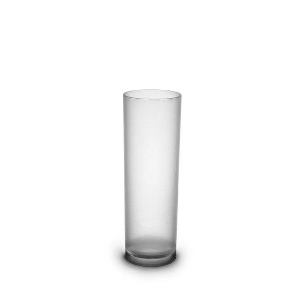 Tube long drink givré incassable et personnalisable.