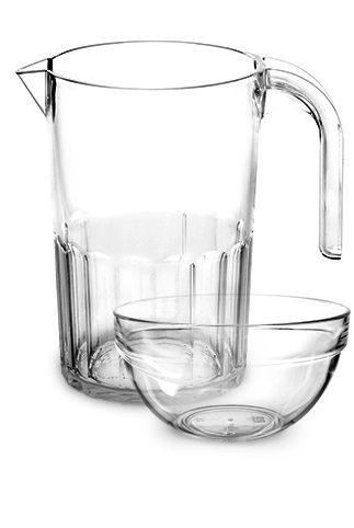 Vaisselle en plastique incassable, réutilisable et personnalisable