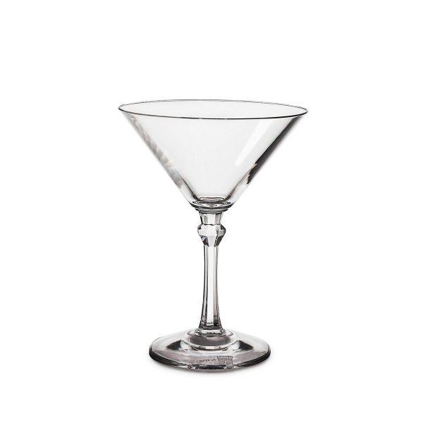 Verre à martini Daiquiri transparent incassable et réutilisable