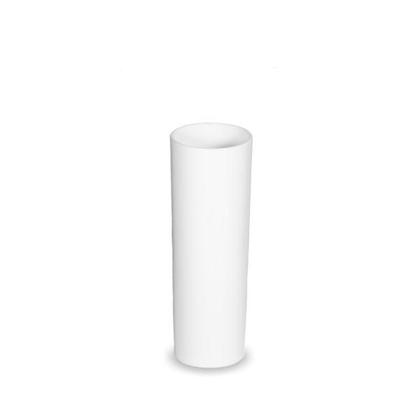 Découvrez notre tube long drink blanc incassable pour servir vos boissons en toute sérénité.