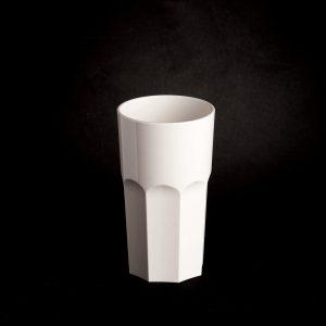Verre rétro blanc incassable | RBDRINKS®