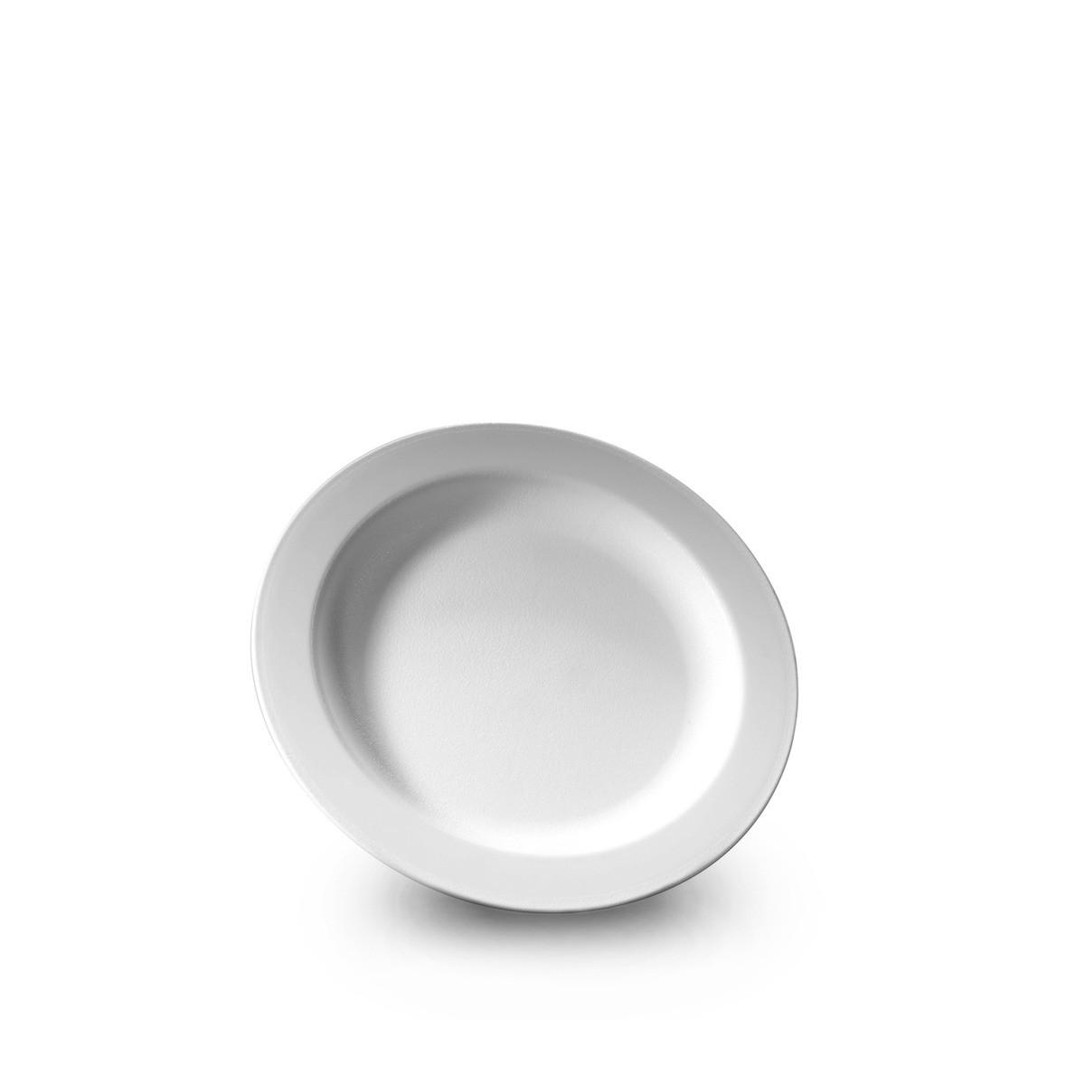 Assiette blanche incassable et personnalisable. Demandez votre devis ici.