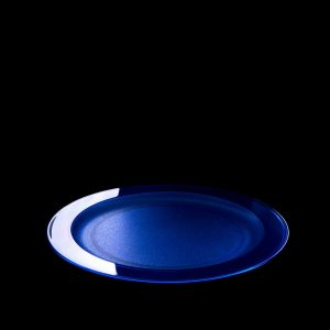 Grande assiette bleue incassable | RBDRINKS®