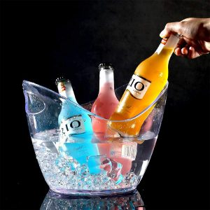 Seau à champagne transparent   RBDRINKS®
