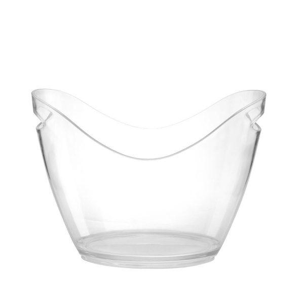 Vasque à champagne transparente | RBDRINKS®